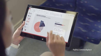 Fujitsu TV Spot, 'Human Centric Workplace' - Thumbnail 5
