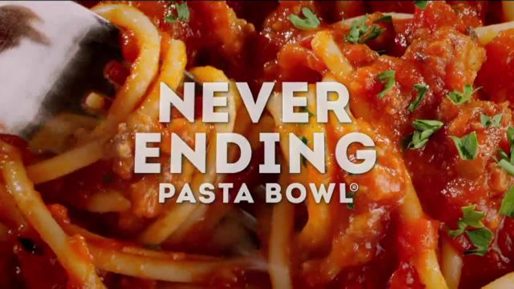 Olive Garden Never Ending Pasta Bowl TV Commercial, 'Back and Better Than Ever!'