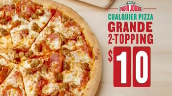 Papa John's Pizza de Dos Ingredientes TV Spot [Spanish] - Thumbnail 6