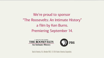 Bank of America TV Spot, 'The Roosevelts: A Ken Burns Film' - Thumbnail 9