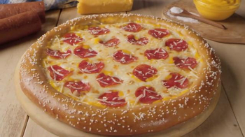 Little Caesars Hot-N-Ready Soft Pretzel Crust Pizza TV Spot, 'Hold Music' - Thumbnail 8