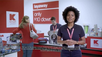 Kmart $10 Down Layaway TV Spot - Thumbnail 8