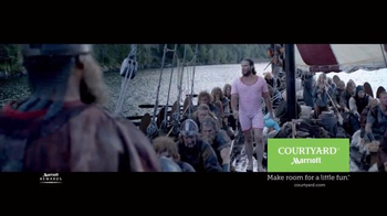 Courtyard Marriott TV Spot, 'Viking Ship' - Thumbnail 10