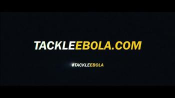Vulcan, Inc. TV Spot, 'Tackle Ebola' Featuring Pete Carroll, Russell Wilson - Thumbnail 10