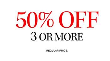 JoS. A. Bank TV Spot, 'September: 50% Off 3+' - Thumbnail 4