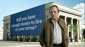 Ameriprise Financial TV Spot, \'On Your Terms\' Featuring Tommy Lee Jones