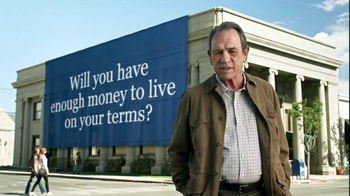 Ameriprise Financial TV Spot, 'On Your Terms' Featuring Tommy Lee Jones - Thumbnail 7