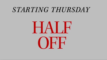 JoS. A. Bank TV Spot, 'September: Half Off, 3rd Free' - Thumbnail 1