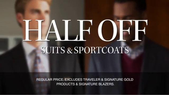 JoS. A. Bank TV Spot, 'September: Half Off, 3rd Free' - Thumbnail 4