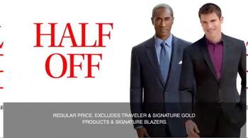 JoS. A. Bank TV Spot, 'September: Half Off, 3rd Free' - Thumbnail 6
