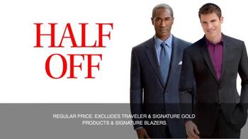 JoS. A. Bank TV Spot, 'September: Half Off, 3rd Free' - Thumbnail 7
