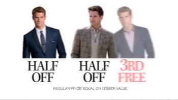 JoS. A. Bank TV Spot, 'September: Half Off, 3rd Free' - Thumbnail 8