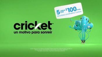 Cricket Wireless TV Spot, 'Kaleidoscope' [Spanish] - Thumbnail 6