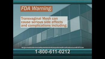 AkinMears TV Spot, 'Transvaginal Mesh Verdict'
