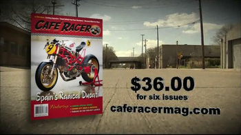 Cafe Racer Mag TV Spot - Thumbnail 7