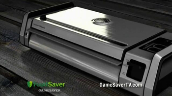 FoodSaver Gamesaver Titanium TV Spot, 'Game Changer'