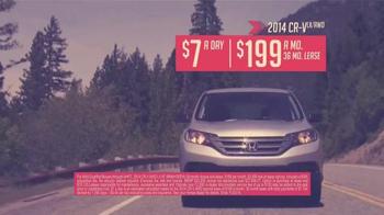 Honda CR-V Clearance Event TV Spot, 'Save Like Never Before: 2014 CR-V' - Thumbnail 7
