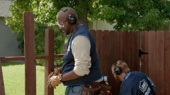 Lowe's TV Spot, 'How to Install a Fence While Riding a Motorcycle' - 2 commercial airings