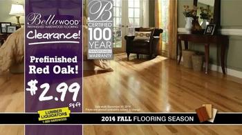 Lumber Liquidators Bellawood Clearance TV Spot, '2014 Fall Flooring Season' - Thumbnail 4