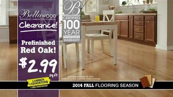 Lumber Liquidators Bellawood Clearance TV Spot, '2014 Fall Flooring Season' - Thumbnail 6