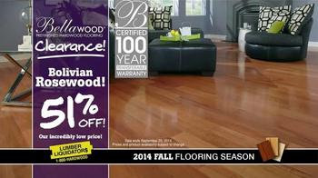 Lumber Liquidators Bellawood Clearance TV Spot, '2014 Fall Flooring Season' - Thumbnail 7