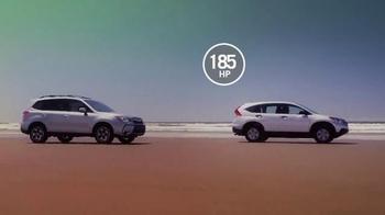 2014 Honda CR-V TV Spot, 'CR-V Vs. Forester' - Thumbnail 3