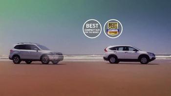 2014 Honda CR-V TV Spot, 'CR-V Vs. Forester' - Thumbnail 4