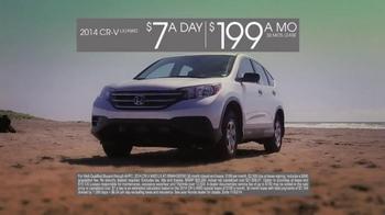 2014 Honda CR-V TV Spot, 'CR-V Vs. Forester' - Thumbnail 8