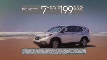 2014 Honda CR-V TV Spot, 'CR-V Vs. Forester' - Thumbnail 9