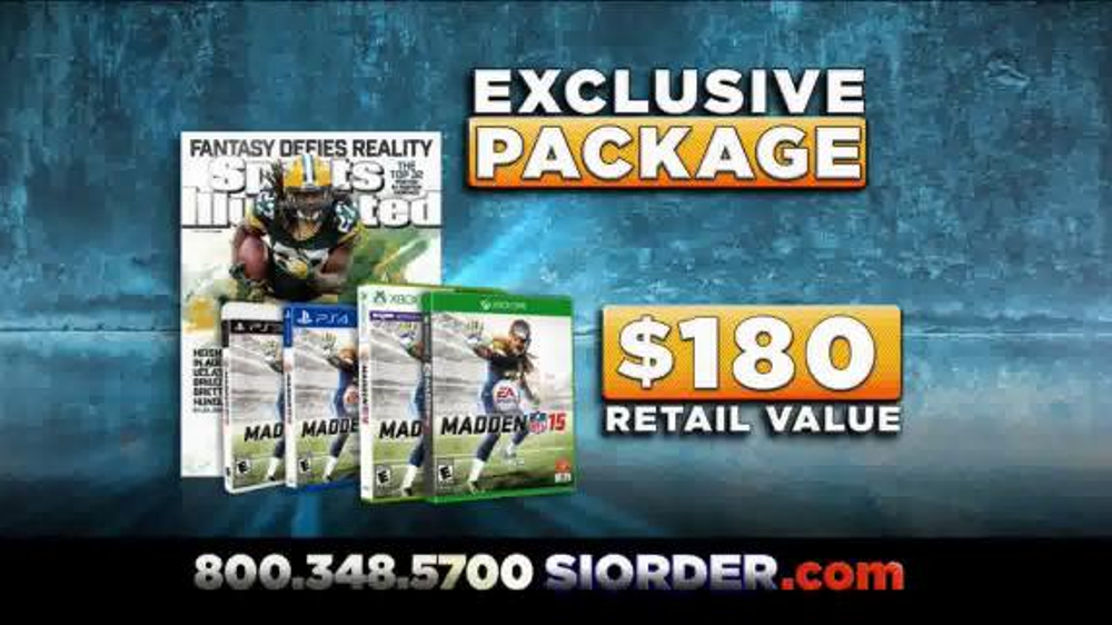 Sports Illustrated TV Commercial, 'Madden NFL 15'