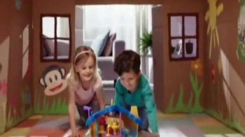 Julius Jr. Rock 'n Playhouse Box TV Spot