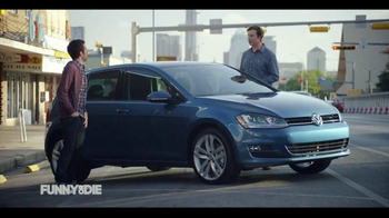 2015 Volkswagen Golf TV Spot, 'Funny or Die: The Way Too Helpful Neighbor' - 46 commercial airings