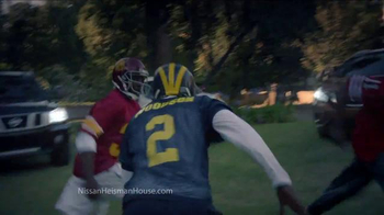 Nissan TV Spot, 'Heisman House: Backyard Football' Ft. Charles Woodson - Thumbnail 2