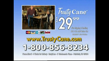 Trusty Cane TV Spot, 'It Happens All the Time' - Thumbnail 10