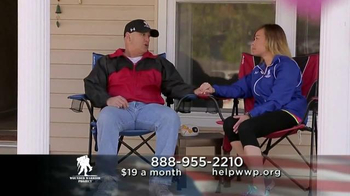 Wounded Warrior Project PTSD TV Spot, 'Rebuild Broken Lives' - Thumbnail 10