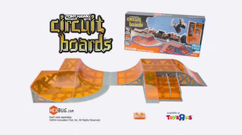 Hexbug Tony Hawk Circuit Boards TV Spot Featuring Tony Hawk - Thumbnail 10