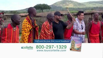 Collette Tours TV Spot, 'Trip of a Lifetime'