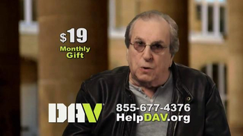 Disabled American Veterans TV Spot, \'Heroes\' Feat. Danny Aiello