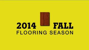 Lumber Liquidators 2014 Fall Flooring Season TV Spot, 'Flooring On Sale' - Thumbnail 1