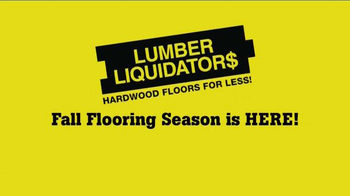 Lumber Liquidators 2014 Fall Flooring Season TV Spot, 'Flooring On Sale' - Thumbnail 10