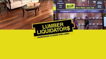 Lumber Liquidators 2014 Fall Flooring Season TV Spot, 'Flooring On Sale' - Thumbnail 2