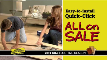 Lumber Liquidators 2014 Fall Flooring Season TV Spot, 'Flooring On Sale' - Thumbnail 4