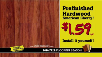 Lumber Liquidators 2014 Fall Flooring Season TV Spot, 'Flooring On Sale' - Thumbnail 5