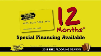 Lumber Liquidators 2014 Fall Flooring Season TV Spot, 'Flooring On Sale' - Thumbnail 9