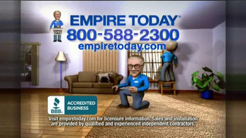 Empire Today 50/50/50 Sale TV Spot, 'Schedule your Free Home Estimate' - Thumbnail 10