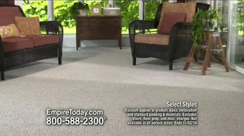 Empire Today 50/50/50 Sale TV Spot, 'Schedule your Free Home Estimate' - Thumbnail 2