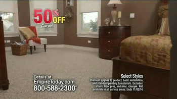 Empire Today 50/50/50 Sale TV Spot, 'Schedule your Free Home Estimate' - Thumbnail 3