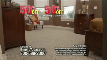 Empire Today 50/50/50 Sale TV Spot, 'Schedule your Free Home Estimate' - Thumbnail 4