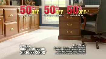 Empire Today 50/50/50 Sale TV Spot, 'Schedule your Free Home Estimate' - Thumbnail 5