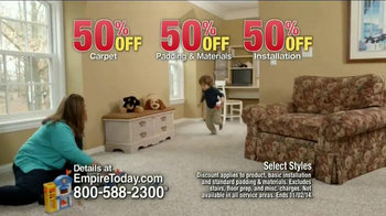 Empire Today 50/50/50 Sale TV Spot, 'Schedule your Free Home Estimate' - Thumbnail 6